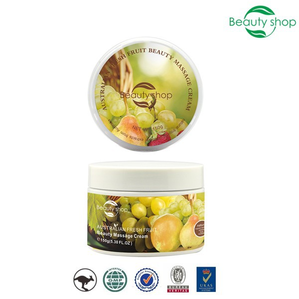 Australian Fresh Fruit Beauty Face Massage Cream , bleaching/dark spot cream for body