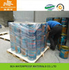 Water resistant polyurethane floor coating with 1000% elongation