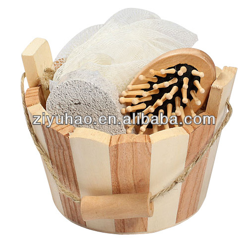 2014 Newest Natural bath accessory set&bath mats sets shower curtains&bath spa gift set