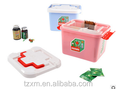2-layer Home Travel Vehicle First Aid Kit box