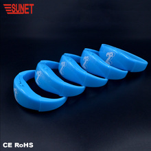 New Arrival Fast Delivery Free Sample Sound Lighting Bracelet Letter Supplier In China