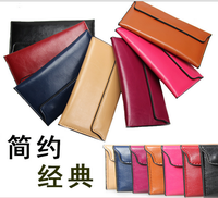 2015 New Fashion Women Wallet Matte Stitching Women Clutch leather pu wallet Wristlet women messenger bag and casual lady's