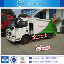 Dongfeng samll compactor rubbish / garbage truck for sale