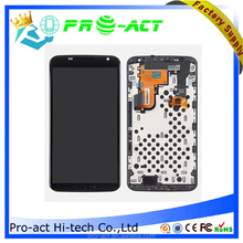 low price AAA quality lcd + frame for motorola google 6 parts