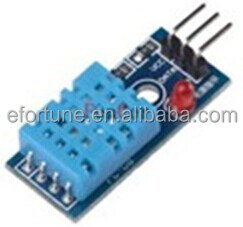 Promotion!!DHT11 Temperature and Humidity Sensor Module with LED Power Supply Indicators and Pull-Up Resistor Connect IO Direct