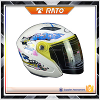 Wholesale cheap white unique motorcycle helmets