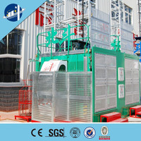 Cargo and Passengers Construction Hoist With CE and BV certicated