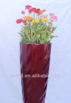 Colorful flower pot painting designs large tree pots buy for Big pot painting designs