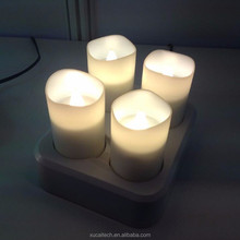 Wholesale Color Changing Battery Operated Candles Light With Timer