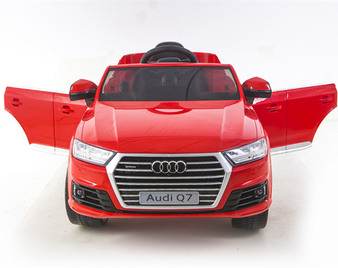 2016 Nestest Licensed AUDI Q7 kids car special with double open door 12V Battery Powered Kids Ride On Car