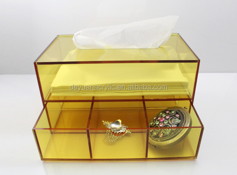 Clear acrylic tissue box holder/acrylic tissue box cover with best price