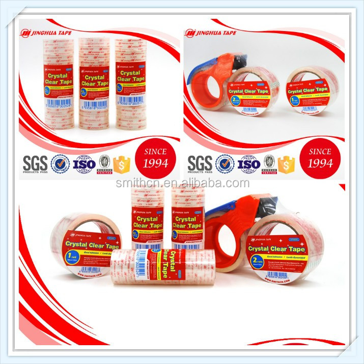 hot melt bopp self adhesive packing tape for carton sealing and packing