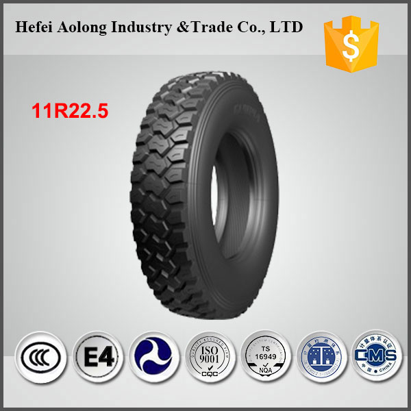 China well- known brand GL909A cheap truck tire 11R22.5