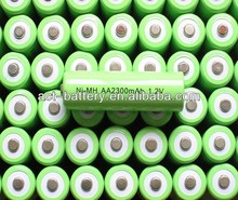 nimh aa 2300mah 1.2v battery rechargeable battery for digital device