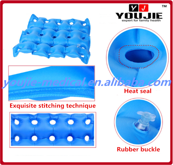 High Quality Inflatable Seat Cushion Elderly Air Cushion for Wheelchair