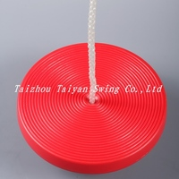 Plastic Disk Swing Seat with Rope