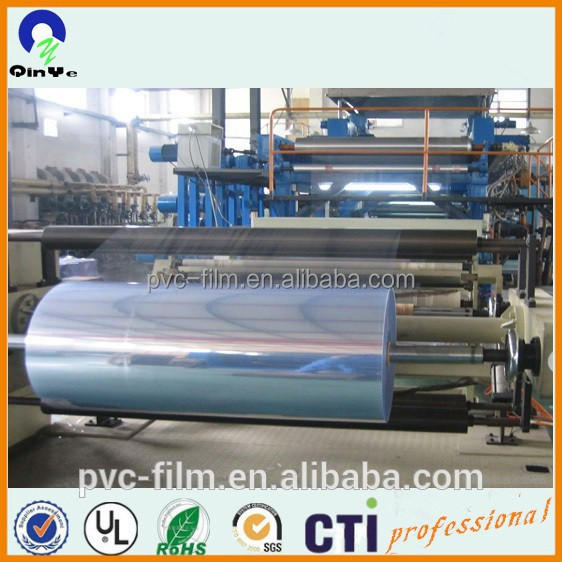 PVC transparent rigid film/rigid pvc rolls
