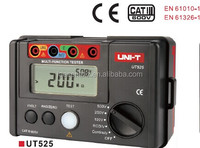 UNI-T UT525 Electrical Insulation Tester Earth Resistance Meter + RCD Tester+Continuity+VAC/DC (4 in 1)