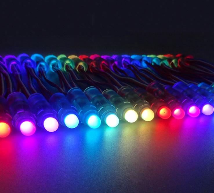 5V WS2811 Pixel LED String Lights Open Sign Full Color Programmable Light