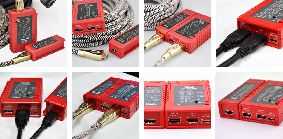 HDMI cable tester for remote &main hdmi cable tester