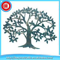Wholesale Chinese products Exterior Tree Meta home wall decoration