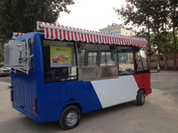 New Style Enclosed Fiberglass Cargo Trailer for catering