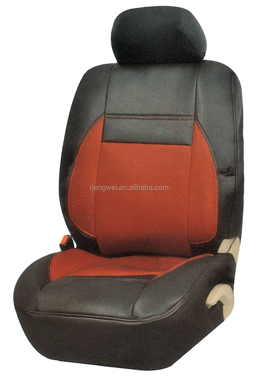 Waterproof Pink White Variety Color Leather Car Seat