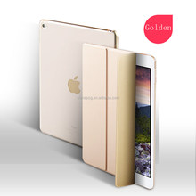 China Factory Hot Selling Leather Case,2017 New For IPad Ultra Slim Lightweight Back Stand Case For New iPad 9.7inch
