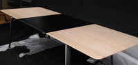 Simply Nordic solid wood extending modern dining table design for European
