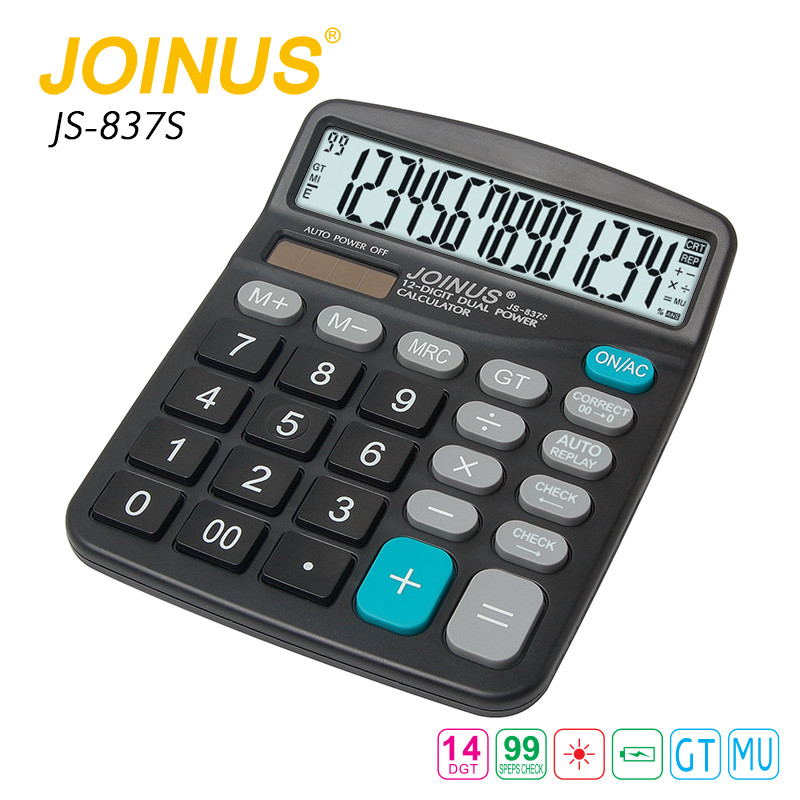 Factory Price Multifunction Portable Solar Kids Mini Calculator
