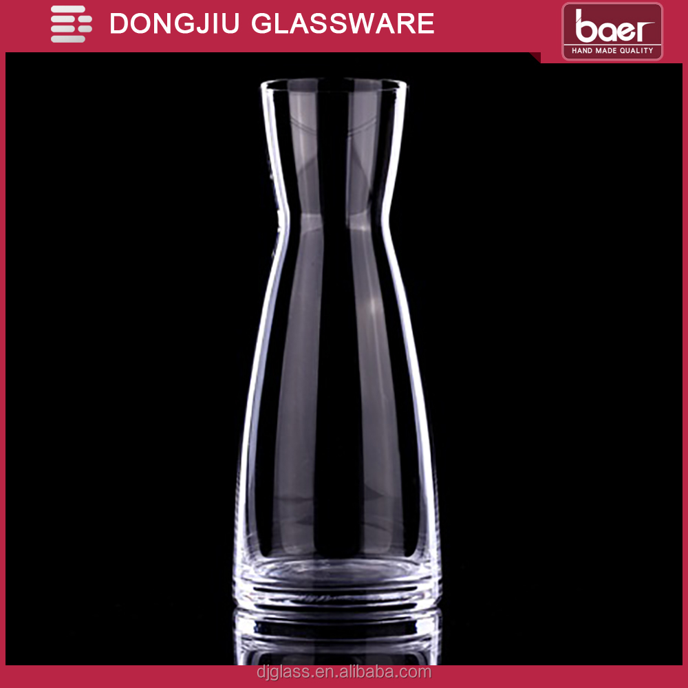 DONGJIU 100ml Hand Blown Clear Lead-free Crystal Glass Wine Decanter / Vase