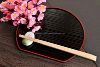 Various types of Japanese disposable chopsticks for flatware set