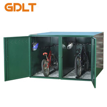 Outdoor Bike Storage Lockers/Outdoor Custom Bike Storage Containers/ Metal Bicycle Locker for Sale