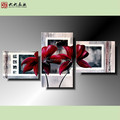 FG-02382 Handmade oil painting beautiful flower paintings