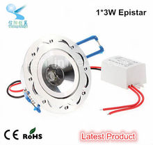 high quality decorative 3w warm white ceiling light recessed ul led downlight