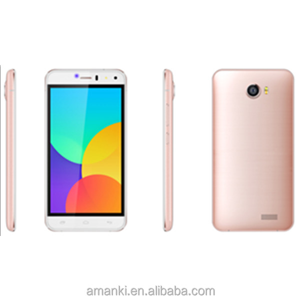 Amanki Factory high quality active unlocked 5.0 inch quad core 4G smart dual sim mobile phone for sale