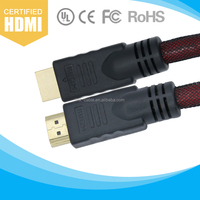 New Premium Bulk Braided 1080P HDMI Cable With Ethernet