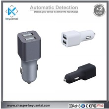 5V 3.4A micro usb car charger dual USB car charger,Smart IC car charger