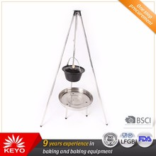 Easily Assembled Excellent Quality Bbq Tripod Grill Smokless Hanging Barbecue Grill