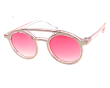 New style fashion custome logo candy color lens sunglasses