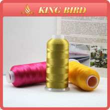High quality glitter embroidery thread 100polyester 108d