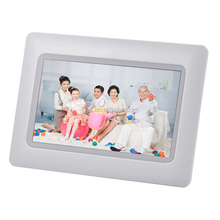 Cheapest HD 7 Inch Digital Frame 8GB Memory Photo Picture With Clock Alarm Lcd Picture Player