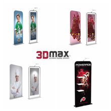 3D MAX EZ Tube Fabric Frame Trade Show Tension Fabric Display/Pop up diaplay for Advertising