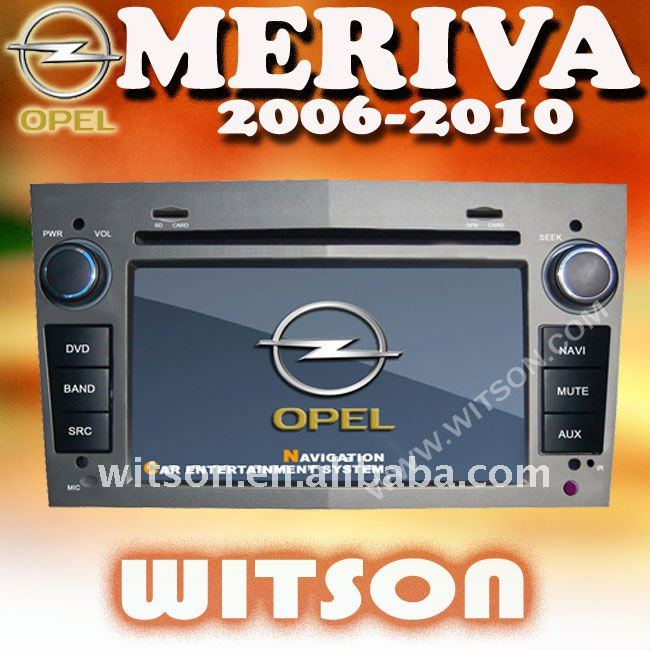 WITSON OPEL MERIVA CAR DVD CAR RADIO with USB port and iPod ready