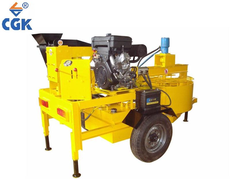 CGK soil cement sand brick ecologic bloc briquette Eco block machine M7MI Manufacturer
