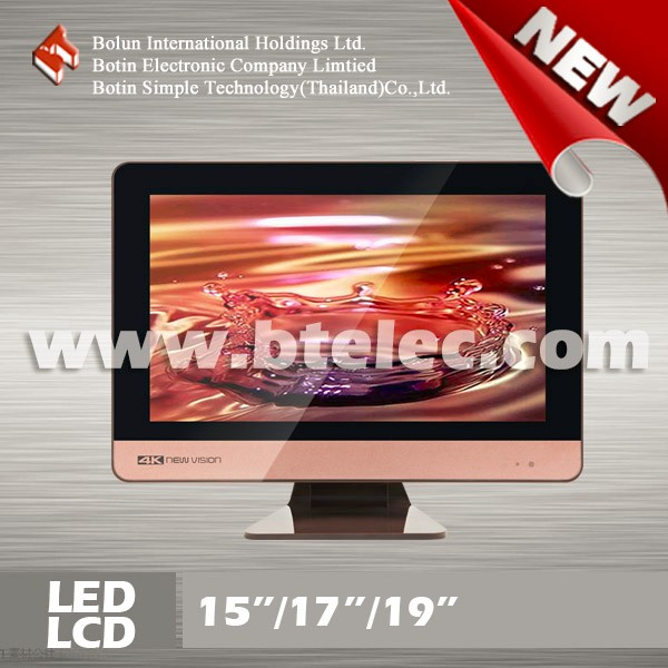 New arrival colorful 15/17/19 inch led tv