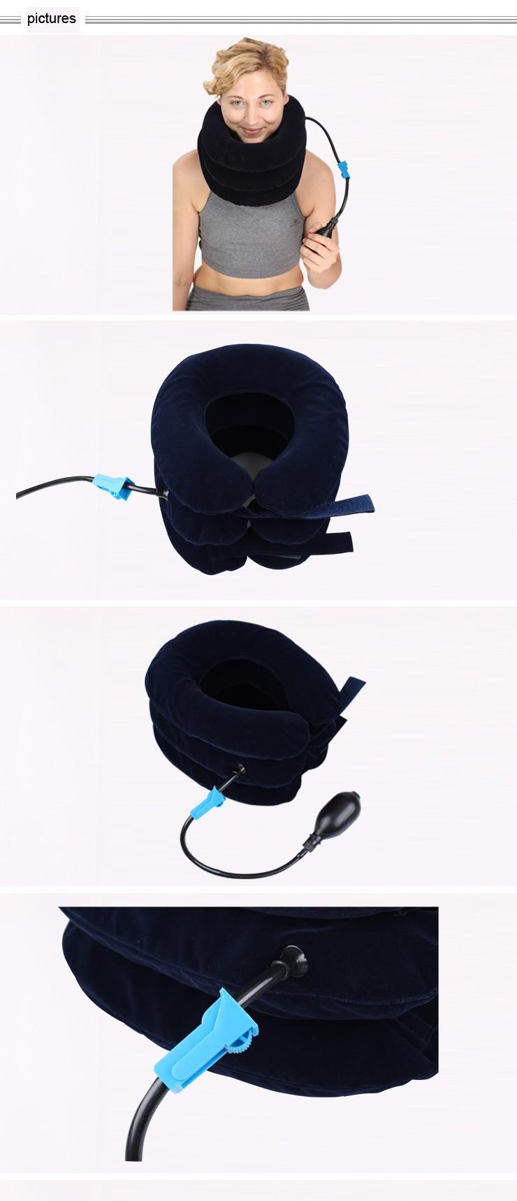 Pescoço Cervical Dispositivo de Tração-Pescoço Alívio Da Dor Terapia-Colar Cervical Ajustável