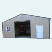 metal steel garage/portable storage shed/steel structure warehouse
