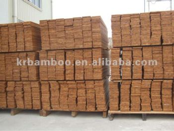 Raw Material for making Bamboo Cabinet Bamboo Furnitures Carbonized Bamboo Board