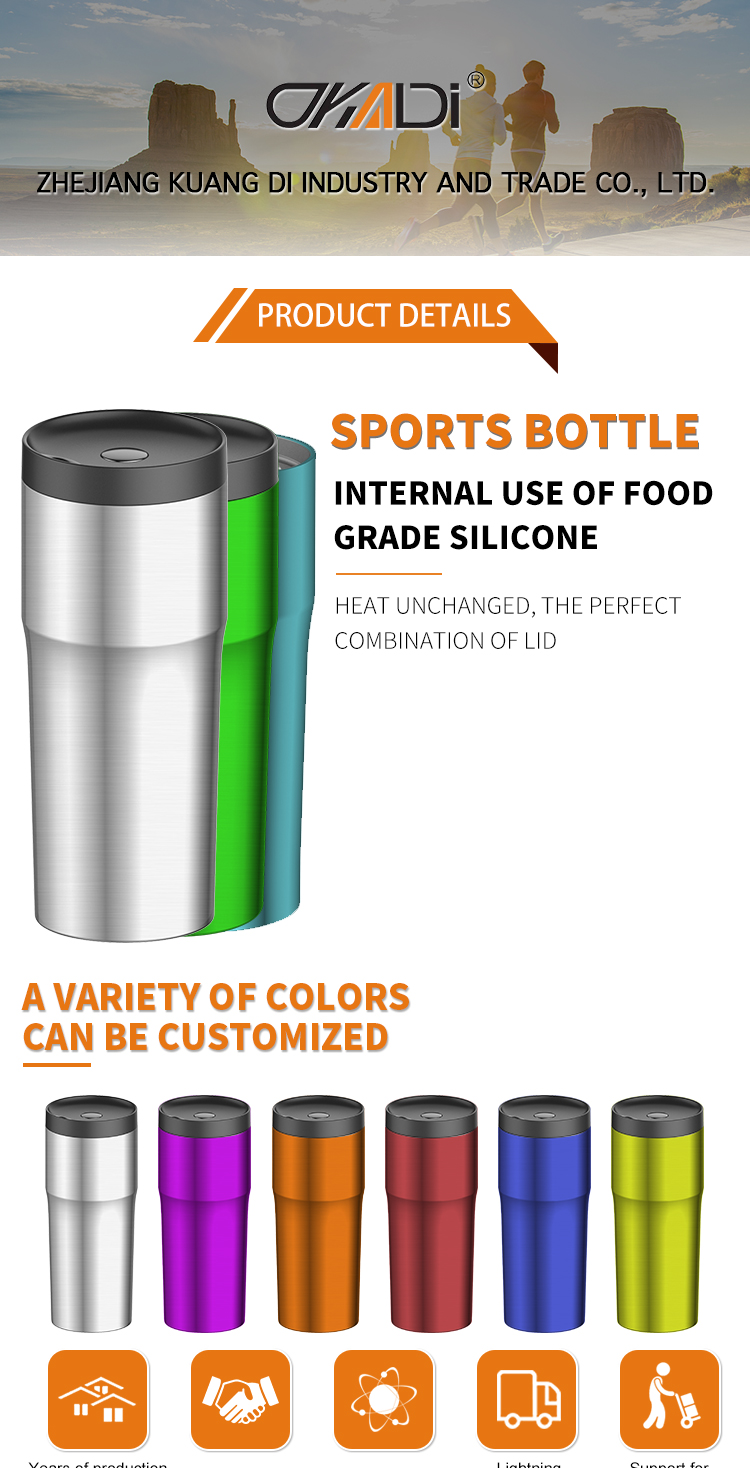 Water flask insulated stainless steel coffee mugs double walled stainless thermo water bottle manufacturer